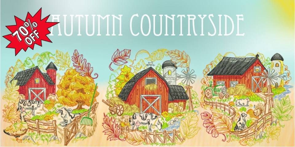 Autumn Country Banner