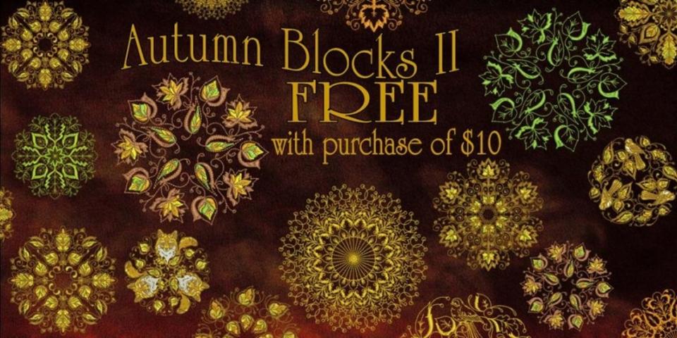 Autumn quilt blocks II