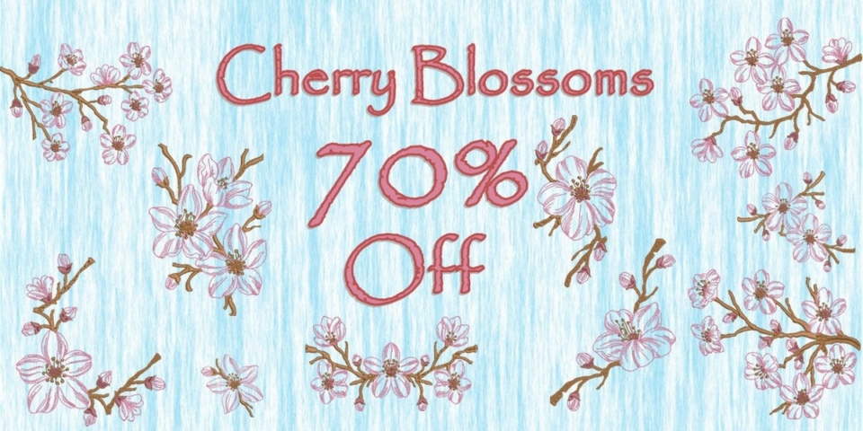Cherry Blossoms Banner