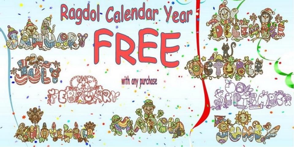 Ragdoll calendar year banner.pub