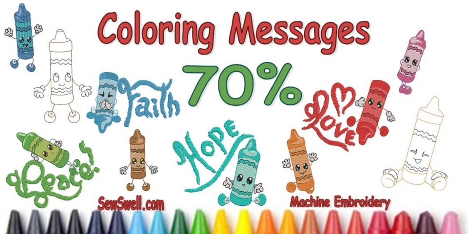 Coloring Messages Banner