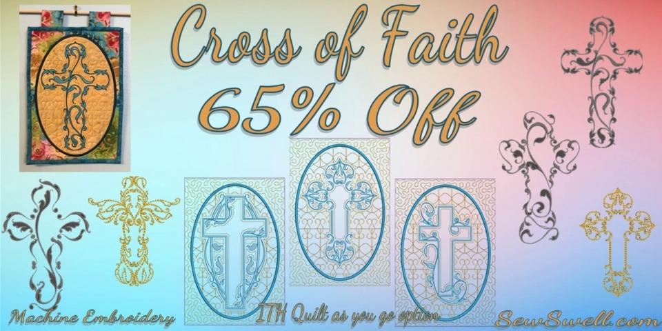 Cross of Faith Banner