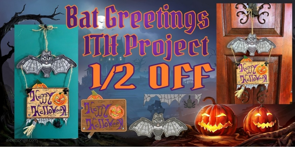 Bat Greetings ITH Project Banner
